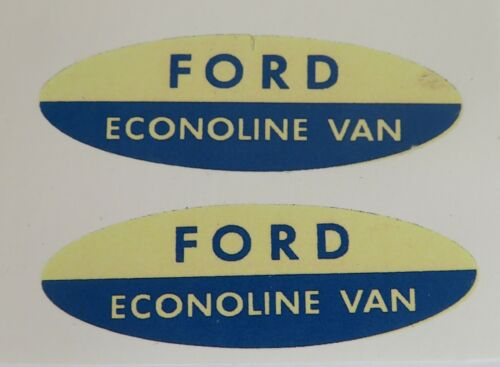 Replacement water slide decal set for Nylint Ford Econoline van