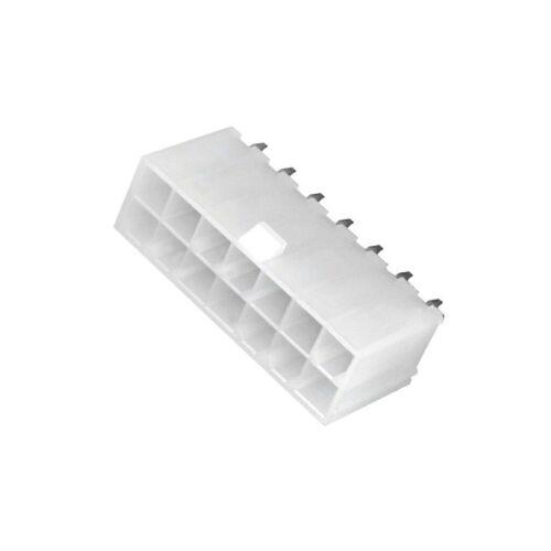 14 THT MOLEX 2X 39-28-1143 Buchse Leitung-Platte männlich Mini-Fit Jr 4,2mm PIN