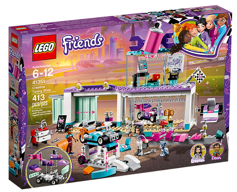 LEGO FRIENDS 41351 Creative Tuning Shop NEW