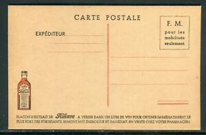 Carte Fm , Publicité Frileuse , Non Circulé - Réf M148