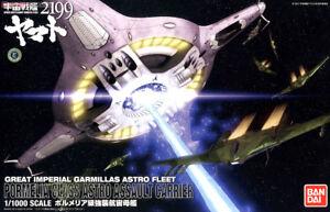 Yamato Star Blazers 2199 1/1000 Kit Maquette de vaisseau mère Space Space Bandai
