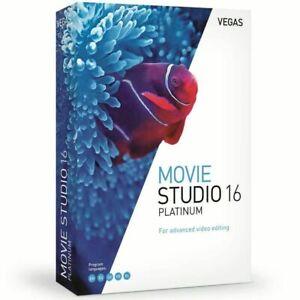 VEGAS-MOVIE-STUDIO-16-Platinum-BUILT-157-SONY-MAGIX-LIFETIME-LICENSE