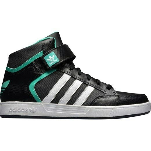 Adidas Hommes Boys Varial Trainers Mid Hi Top Trainers Varial Chaussures Noir/vert3.5 4 5 6.5 9a55d3