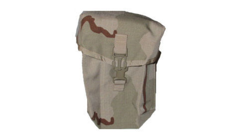 NEW US MILITARY SURPLUS 200 ROUND DESERT CAMO MOLLE SAW AMMO IFAK UTILITY POUCh