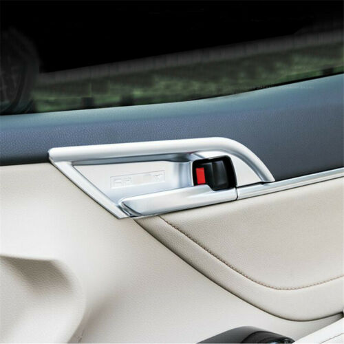 Fit For 2018-2020 Toyota Camry Matt Silver Inner Door Handle Bowl Cover Trim 4P