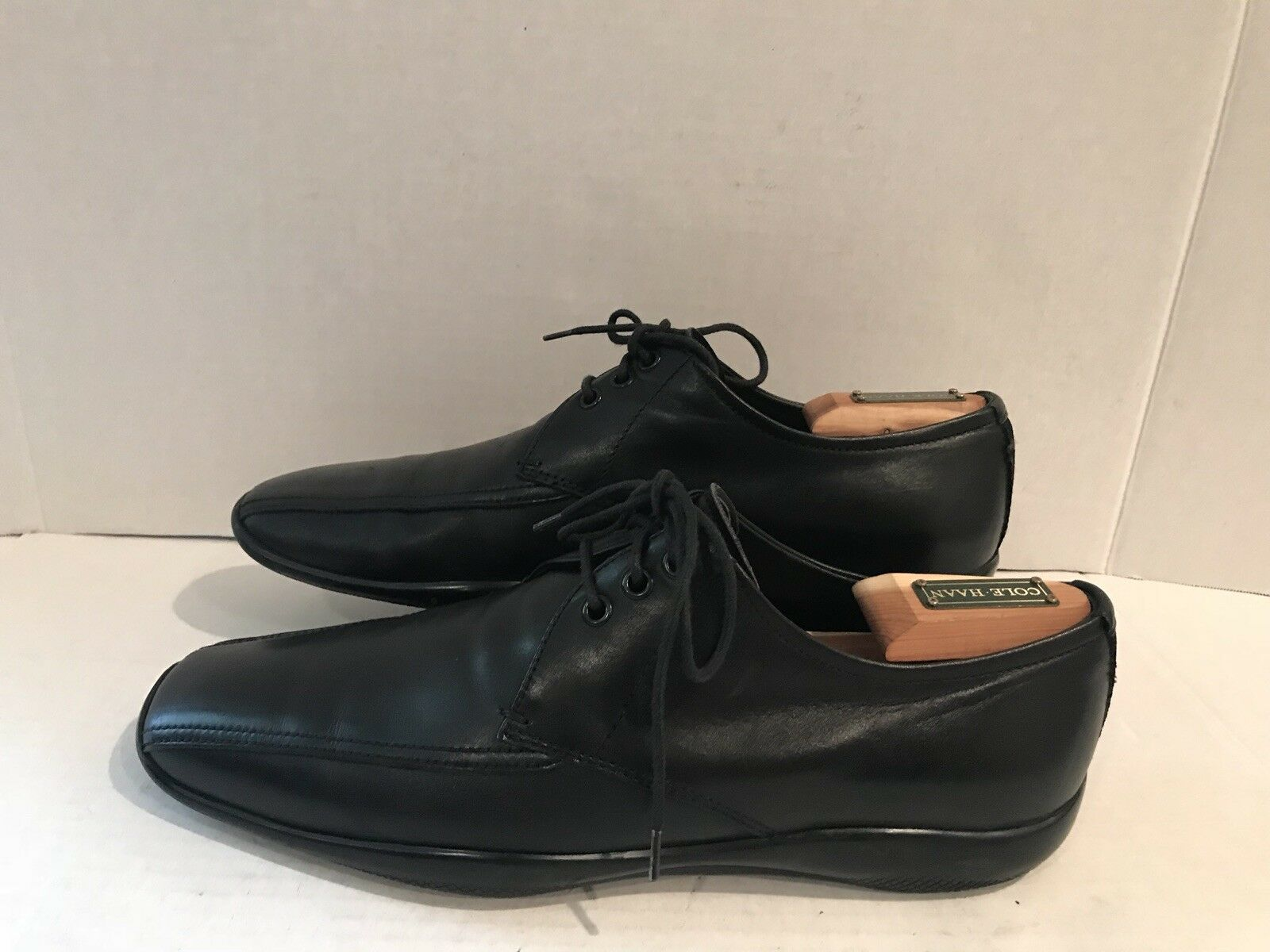 Prada shoes Prada Sport Men Classic Lace Up Black Leather shoes SZ 7.5 UK 8.5 US