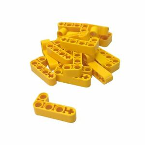 4x liftarm 2x4 l shape thick thick yellow//yellow 32140 new Lego technic