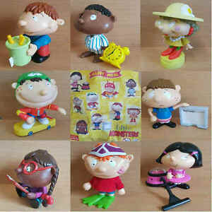 McDonalds-Happy-Meal-Toy-2002-Little-Monsters-Plastic-Character-Figures-Various