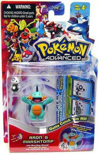 Pokemon Advanced Aron /& Marshtomp Mini Figure 2-Pack