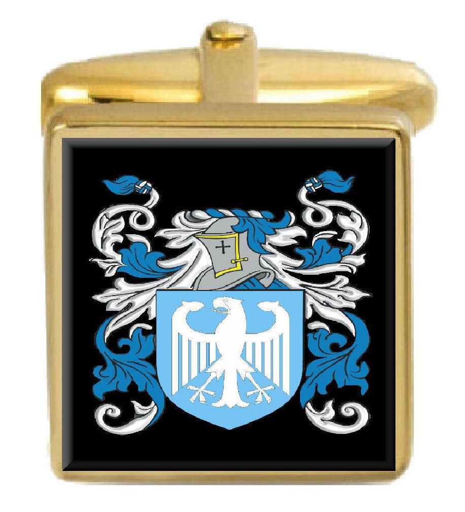 Jephson Inghiletrra Famiglia Famiglia Famiglia Stemma Cognome Stemma oro Gemelli Inciso Scatola 2f6431