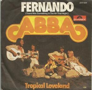 Abba-Fernando-original-1976-German-7-inch-vinyl-single