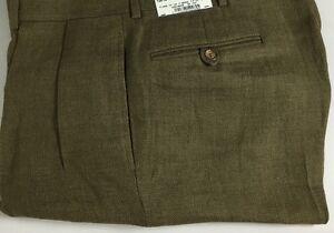 Polo-Ralph-Lauren-Dalton-Dress-Pants-Mens-32-Regular-Flax-Linen-Green