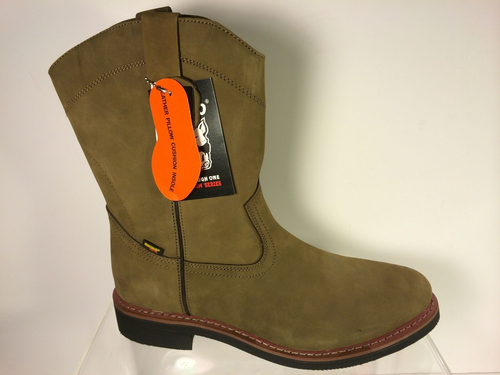 Serie de vaquero occidental Rhino Premium Wellington botas para hombre 10.5