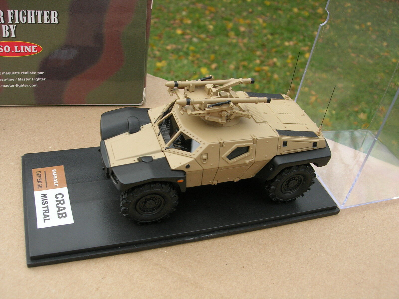 Master fighter 1 48  military 4x4 panhard  crab  mistral sand ref48556sc  pas de taxes