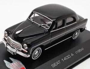 ALTAYA 1/43 SCALA DIECAST IR084 - 1954 SEAT 1400 A-Nero