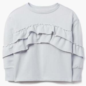 Details about  /Gymboree Ruffle Sweatshirt Hoodie