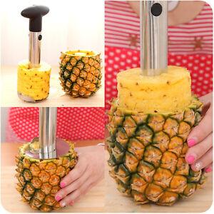 Easy-Gadget-Kitchen-Fruit-Pineapple-Corer-Slicer-Cutter-Peeler-Stainless-Steel