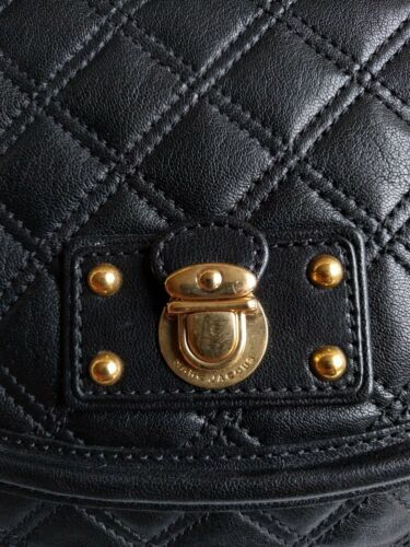 Black Handbag Authentic Cooper Marc Jacobs Quilted Leather HxqwRAqC