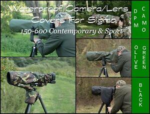 Waterproof-Camera-Lens-Rain-Cover-Sigma-150-600-Contemporary-or-Sport-150-600