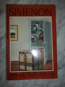 MAIGRET-039-S-REVOLVER-Simenon-Georges-First-Edition-1st-Printing