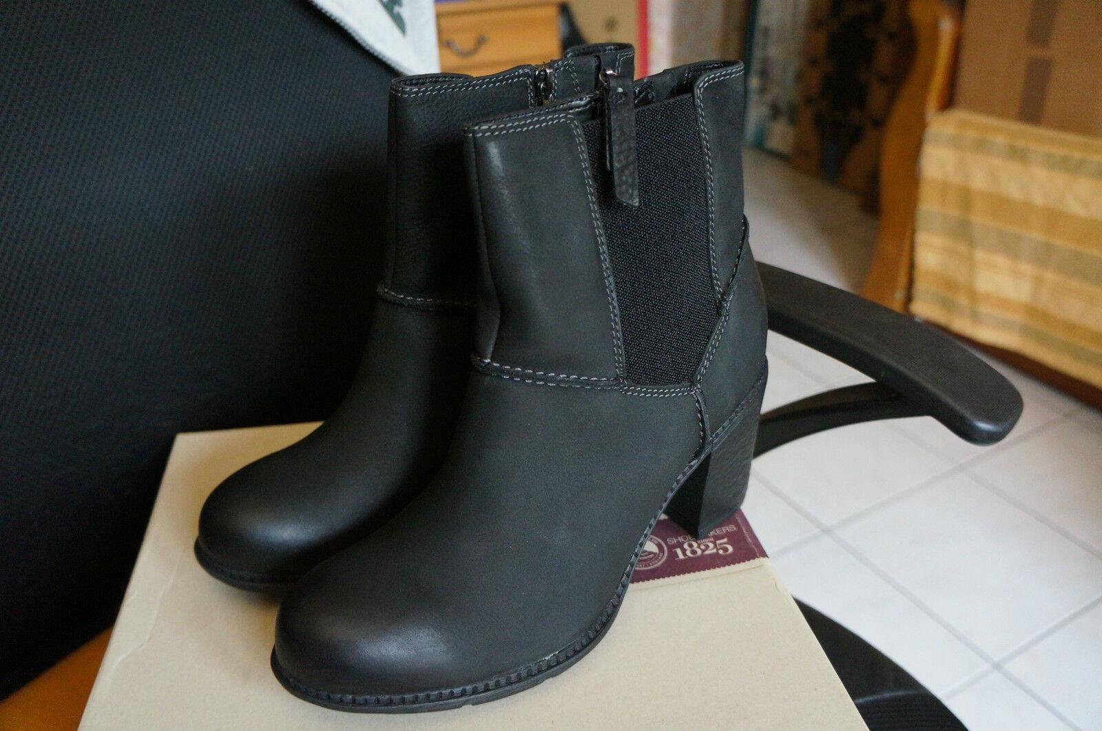 Clarks Merrigan Dane,  Boots femme, black , 41.5 EU (7.5 uk)