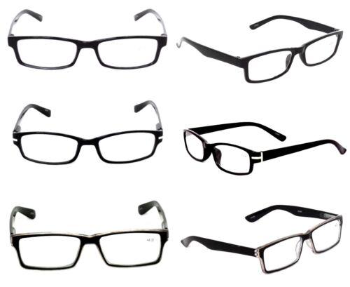 SALE MEN OPTICAL 1.50 READING GLASSES LOT PACK 6 WHOLESALE