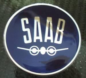 2-5-034-SAAB-Vintage-Hood-or-Trunk-Emblem-sonett-96-93-9-3-95-9-5-9-2X