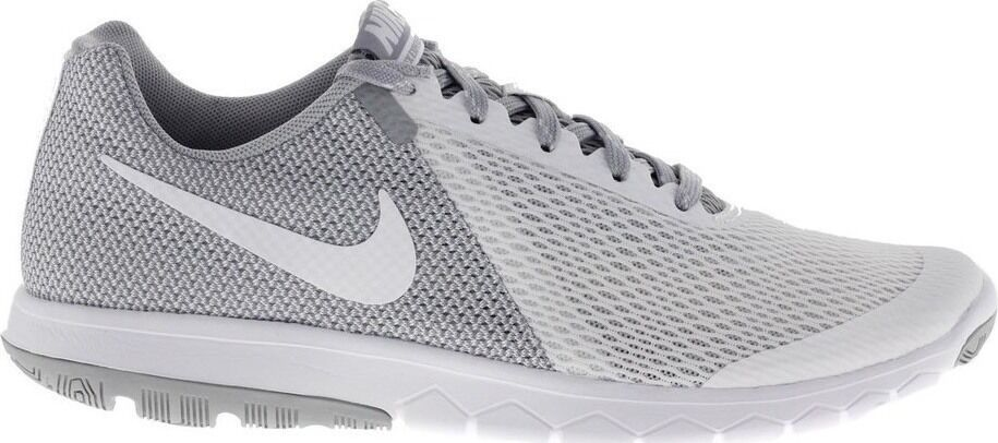 Nike Womens Flex Experience RN 5 844729 100 white &  Grey  US size 10