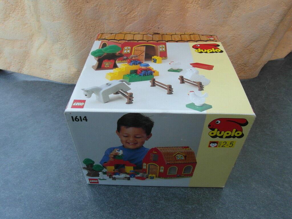 LEGO DUPLO 1614 bauerhof neuf dans sa boîte non ouvert nouveau nouveau nouveau