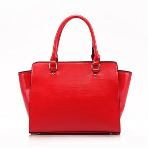 new  women's fashion style designer celebrities's blogger blog bag 421402 RED a4