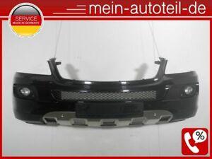 Mercedes-W164-ORIGINAL-Frontstossstange-PDC-Xenon-197-Obsidianschwarz-164885122-D