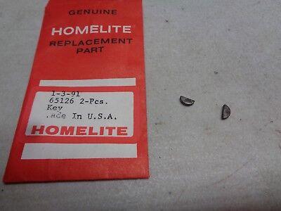 1-HOMELITE SUPER EZ WOODRUFF KEY  Part # 65126