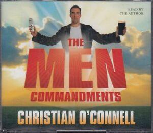 The-Men-Commandments-Christian-O-039-Connell-3CD-Audio-Book-Abridged-Comedy-FASTPOST