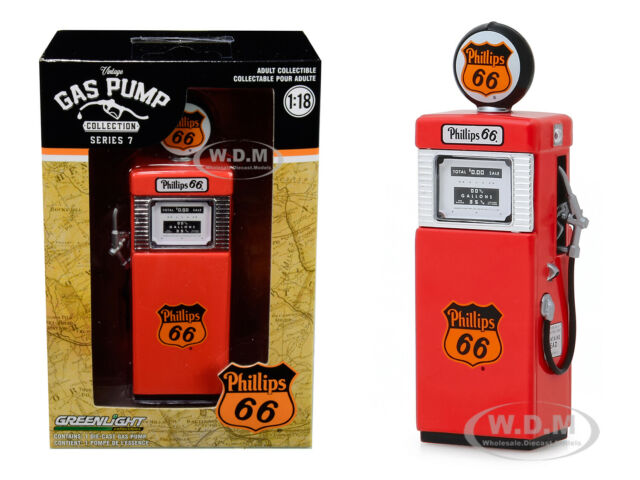 Greenlight 1:18 Wayne 505 Gas Pump Quaker State with