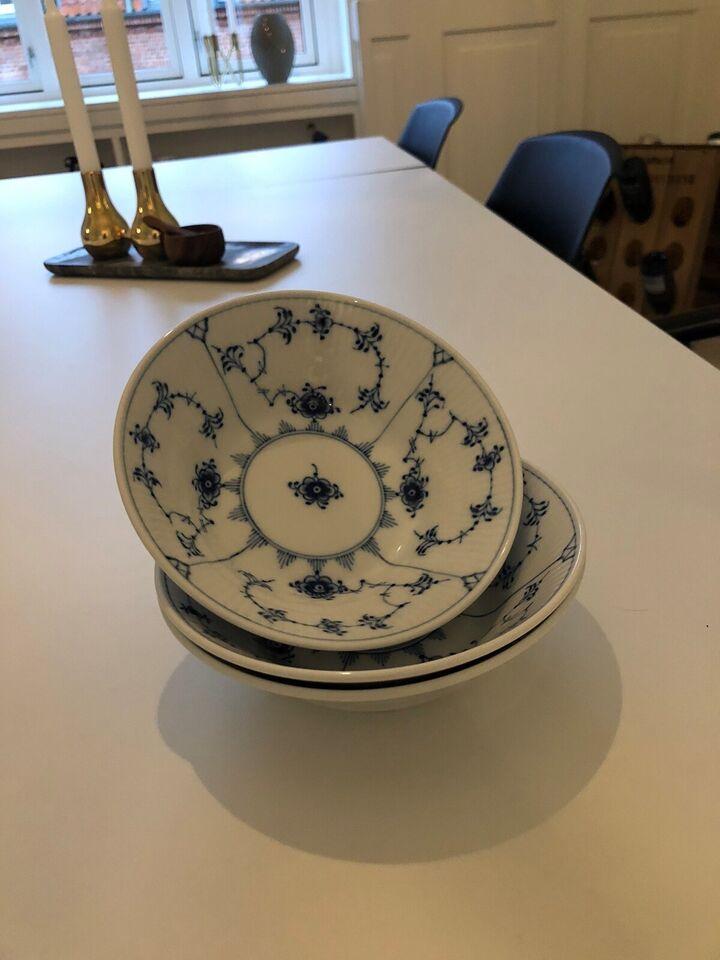 Porcelæn, Dyb tallerken 17 cm., Royal Copenhagen