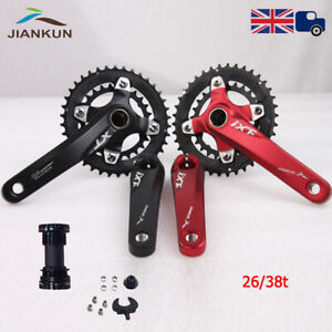 104-64bcd-Double-Speed-Bicycle-Chainset-26-38T-Sprocket-Chainring-170mm-Crank-BB