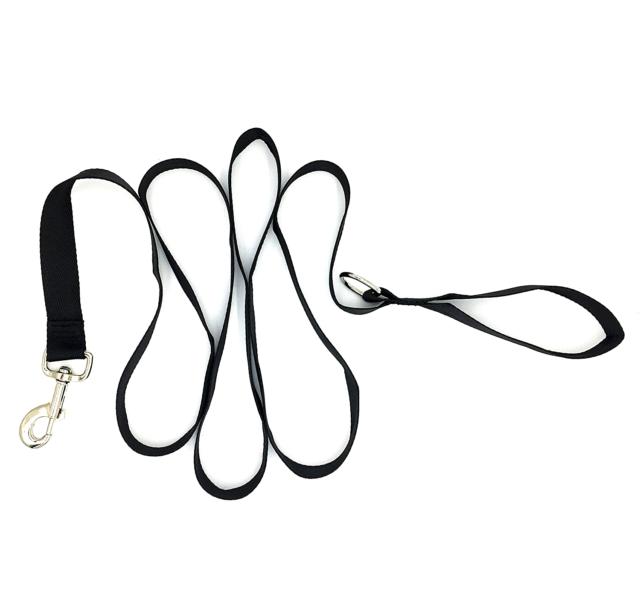 Dogs Dog Collar Leash Blue Black Skulls For Medium Heavy Duty