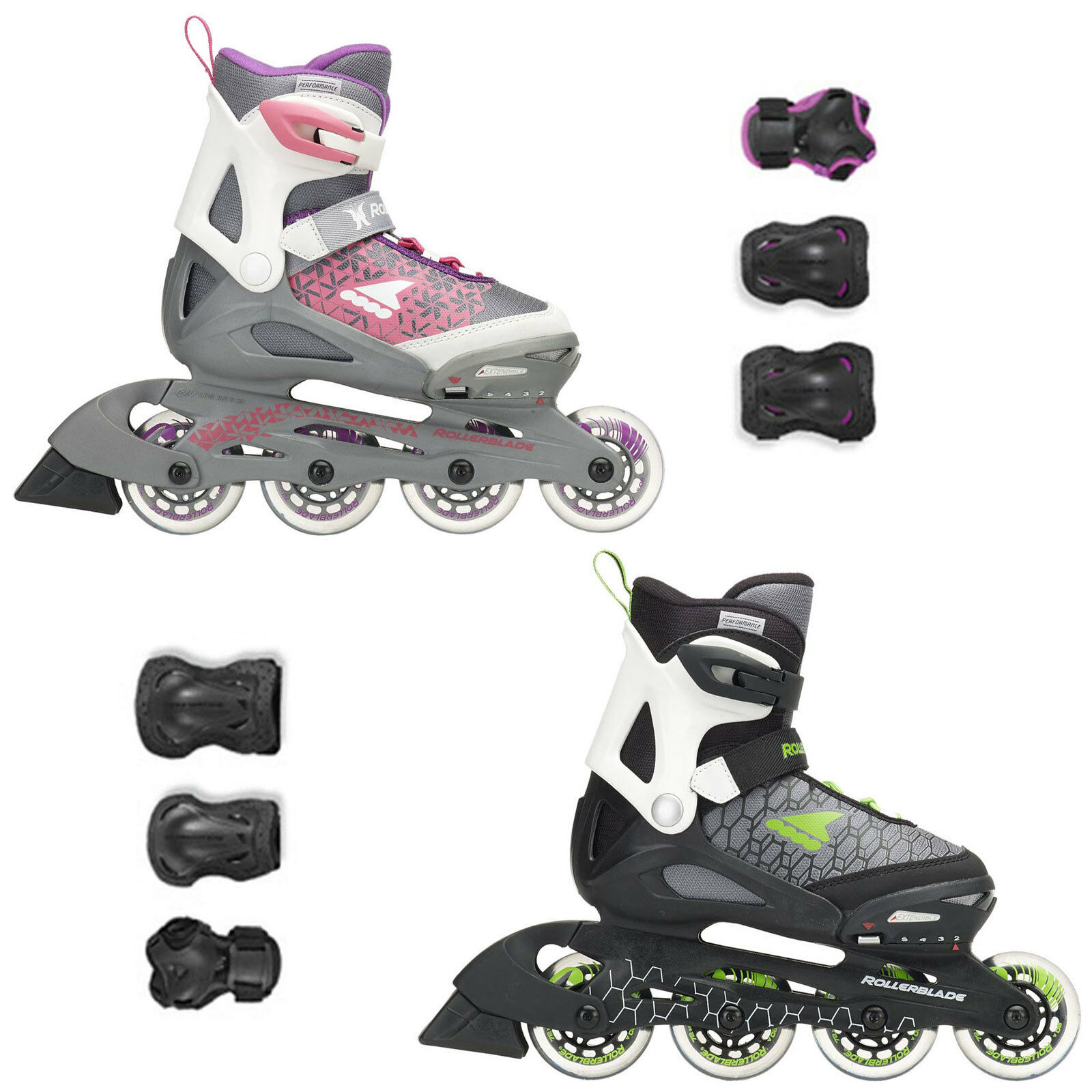 Rollerblade Combo Kids Kinder-Inline S  s Inliner Predectors Joint Set  wholesale price and reliable quality