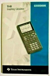 LikeNew-TI-85-Texas-Instruments-Graphing-Calculator-Guidebook-Instruction-Manual
