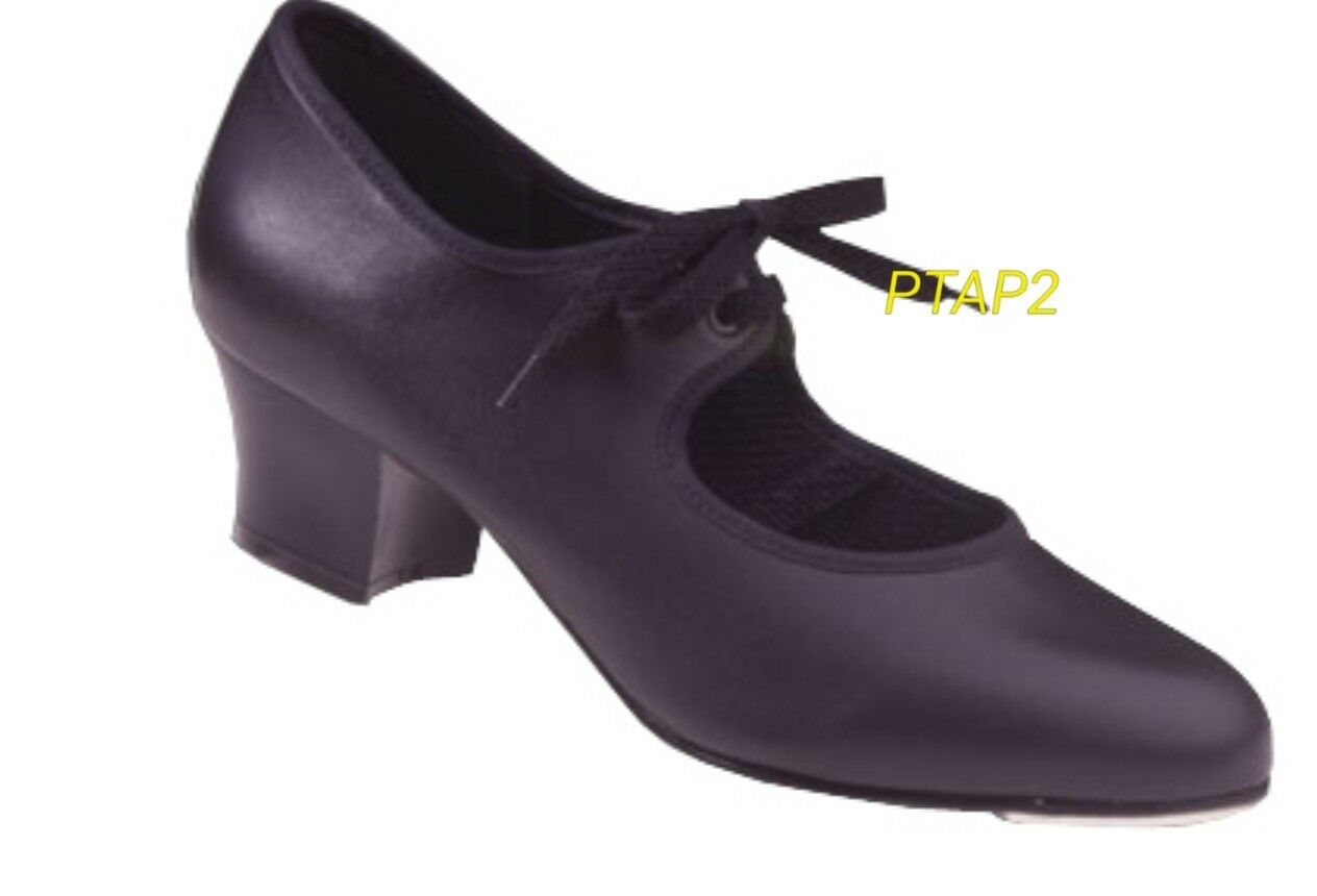Black freed PTAP2 tap shoes size 1