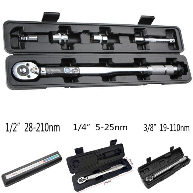 """Britool Expert by Facom Torque wrench 5-25nm 1//4/"""" square drive E100105"""