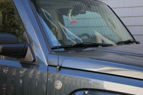 "1982-2002 Chevrolet Camaro 15/"" Black Spring Stainless AM//FM Antenna Mast Fits"