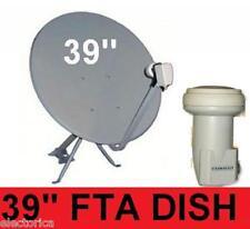 "39"" HIGH GAIN KU BAND SATELLITE DISH ANTENNA+FTA LNB 97 W 95 INTERNATIONAL"