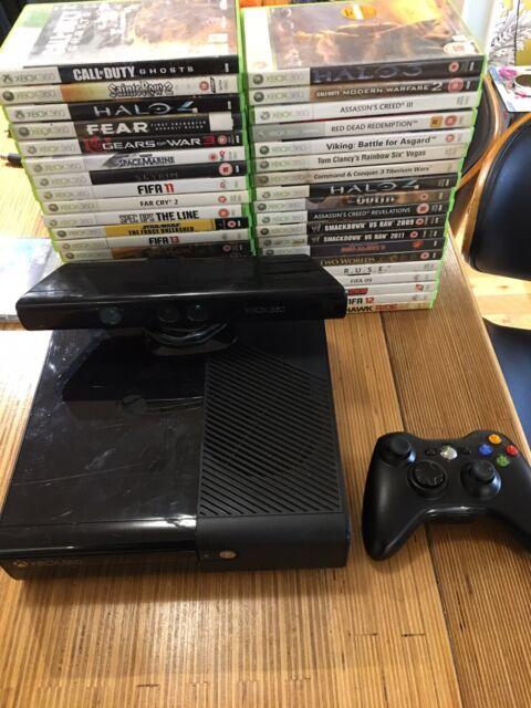 Microsoft Xbox 360 E 4gb Black Console  Pal  For Sale Online