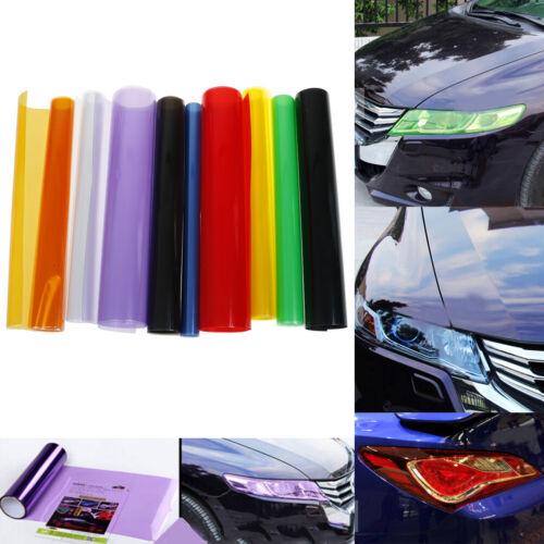 Car headlight taillight fog light sticker tint protector film vinyl wrap L/_D