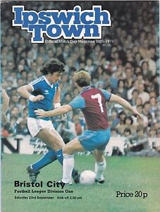 IPSWICH-TOWN-V-BRISTOL-CITY-DIVISION-ONE-23-9-78