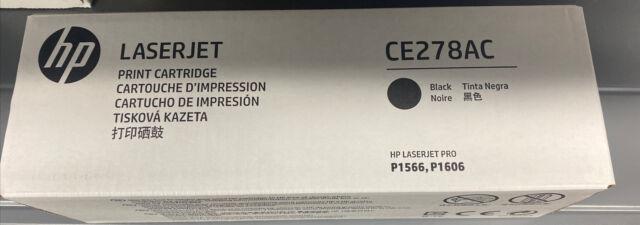 HP 78A (CE278A) Black LaserJet Toner Cartridge
