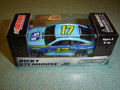 2017 RICKY STENHOUSE Jr #17 Fifth Third 1//64 NASCAR DIECAST FREE SHIP IN STK