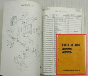 Nissan-Kizai-N230-2-N260-2-Excavator-Parts-Catalog-Spare-Parts-List-Oct-1989