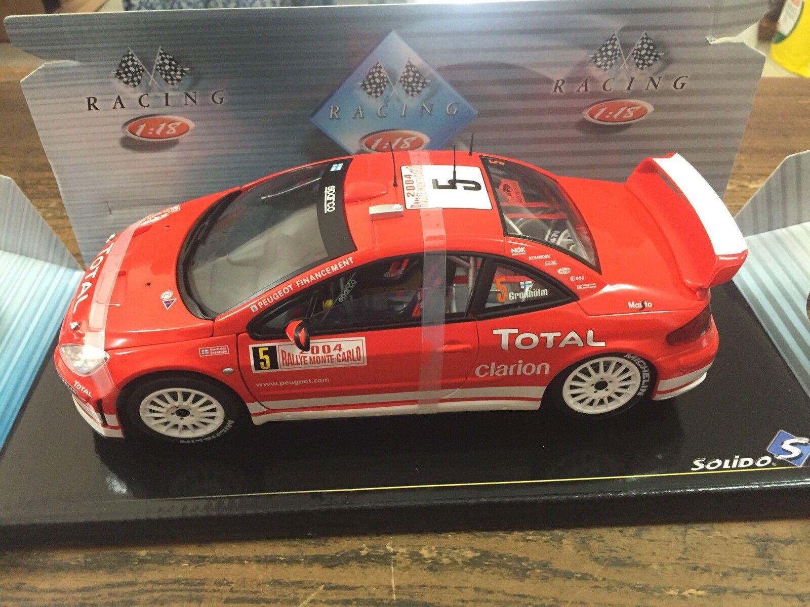 Solido 1 18 9044 Peugeot 307 WRC WRC WRC Gronhölm Rally Montecarlo 2004 662541